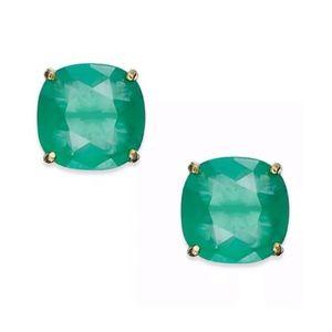 KATE SPADE • Beryl Green Squared Away Earrings